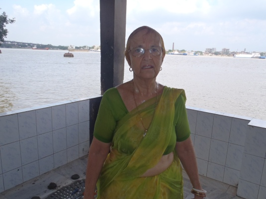 Coming out from the Ganges